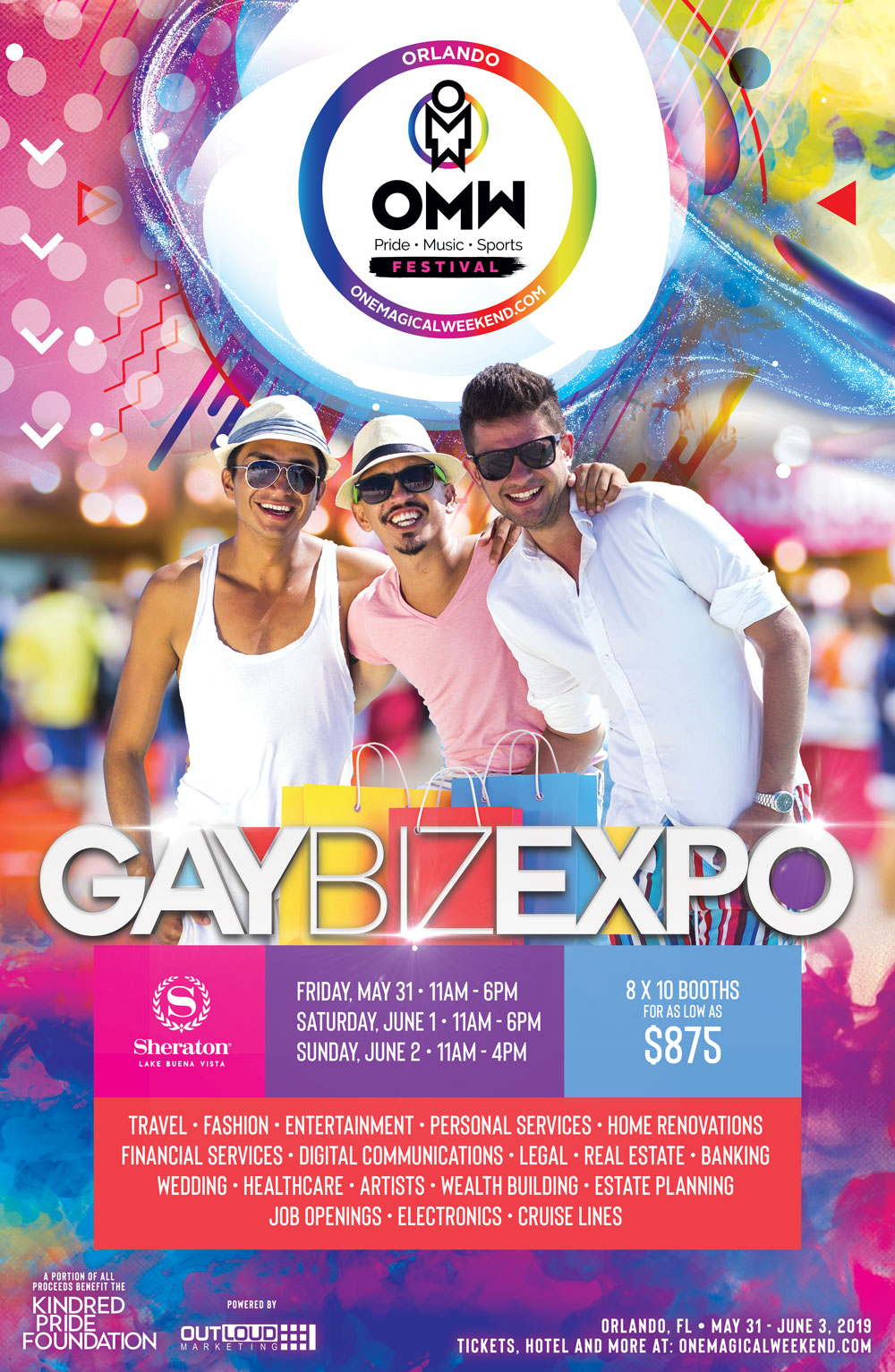 2019 OMW Gay Biz Expo - One Magical Weekend